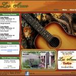 Los Arcos Restaurant Website Screenshot